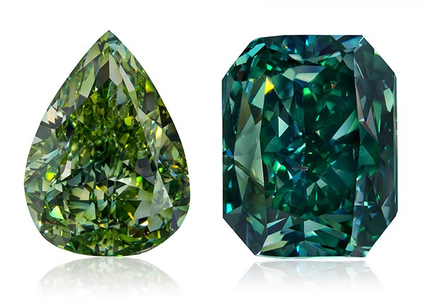 Elite Collection of Green Diamonds Makes Its Debut at the ...